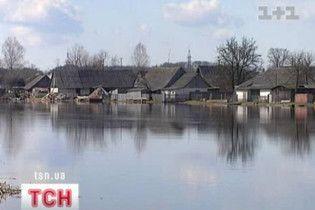 На Черниговщине из-за наводнения нарушено транспортное сообщение
