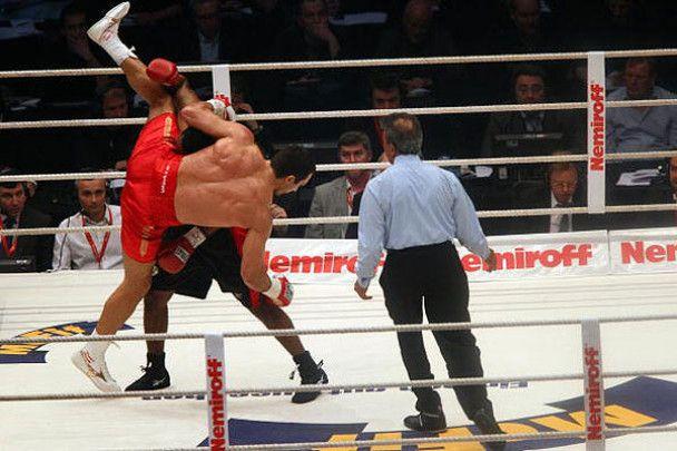 Бой Кличко vs Чемберс