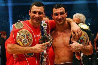 Братья Кличко проведут в Киеве грандиозное шоу бокса