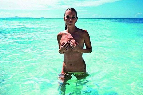 Кейт Мосс обнажилась ради бриллиантов