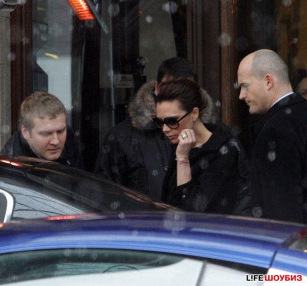 Виктория Бекхем в Москве ходила в театр и пила водку