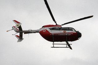 Под Днепропетровском разбился вертолет, 4 человека погибли