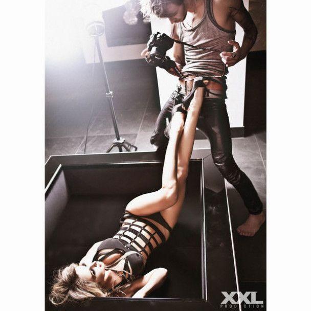 Лобода устроила брутальную фотосессию с 20-летним Максом Барских