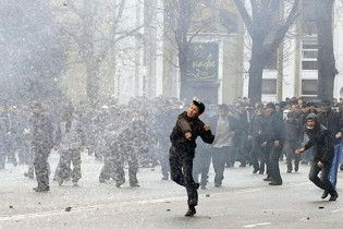 В Бишкеке загорелось здание Генеральной прокуратуры