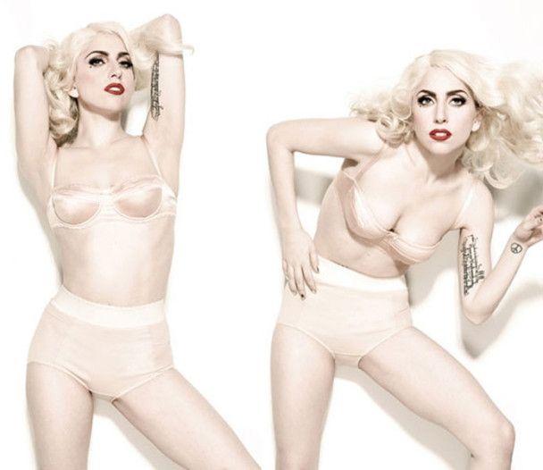 Израильский журнал вышел с обнаженной Lady GaGa на обложке