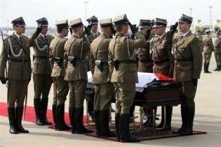 Польша и Россия разошлись во мнениях относительно причин гибели Качиньского