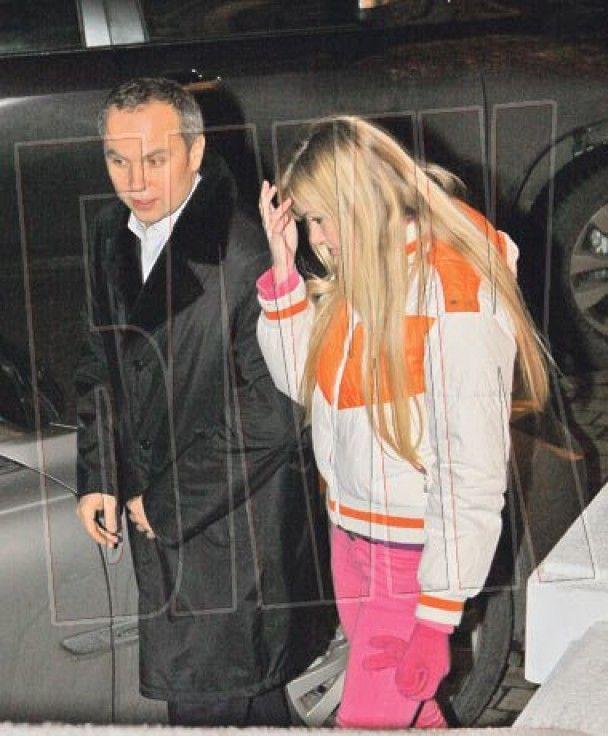 Шуфрич проводит время со скандальной блондинкой из FEMEN