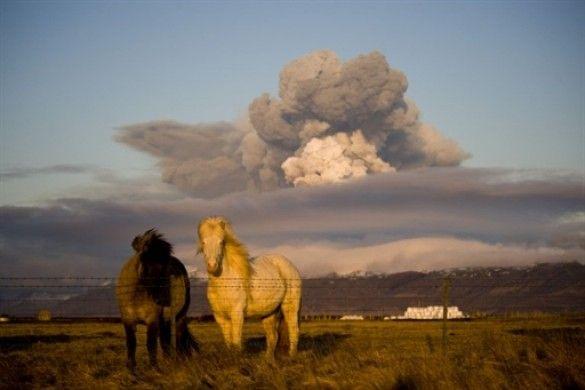 Виверження вулкана в Ісландії