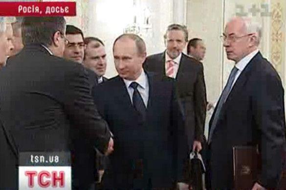 Азаров та Путін
