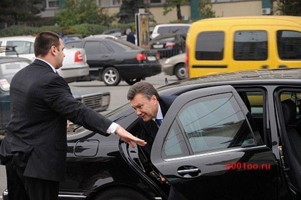 Кортеж Януковича попал в ДТП: есть жертвы