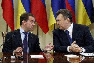 Газ в обмен на флот: договор Януковича с Медведевым