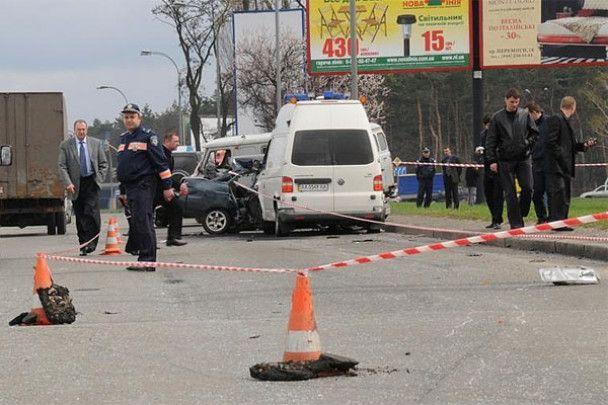 "Отец погибшего таксиста: ""скорая"" из кортежа Януковича не виновата"