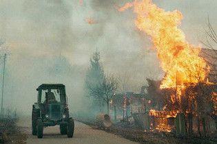 В Чернобыльской зоне за четыре дня произошло два пожара