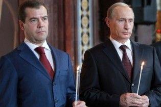 """Путин о тандеме с Медведевым: """"Мы - традиционной ориентации"""""""