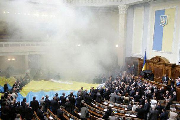 Литвина в ВР забросали яйцами