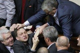 После драки в Раде депутата от НУ-НС забрали в больницу