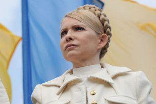 Тимошенко поздравила Януковича и попросила его не плеваться