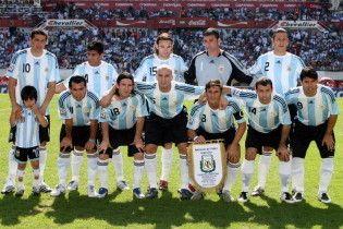 Сборная Украины в октябре сыграет с Аргентиной