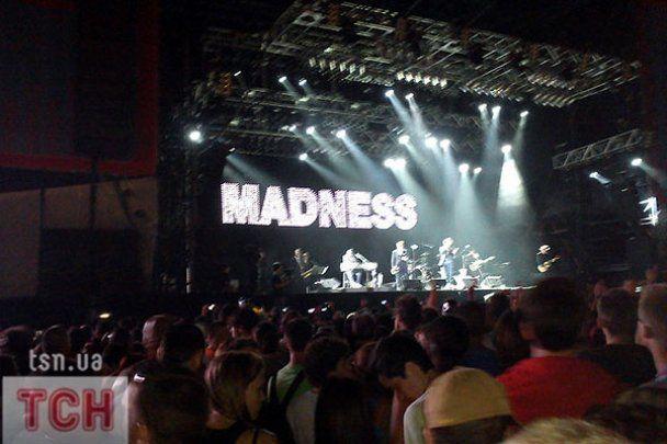 "Группа Madness ""зажгла"" на фестивале ""Sziget-2010"""