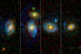 """Телескоп """"Хаббл"""" знайшов """"галактики-зомбі"""""""