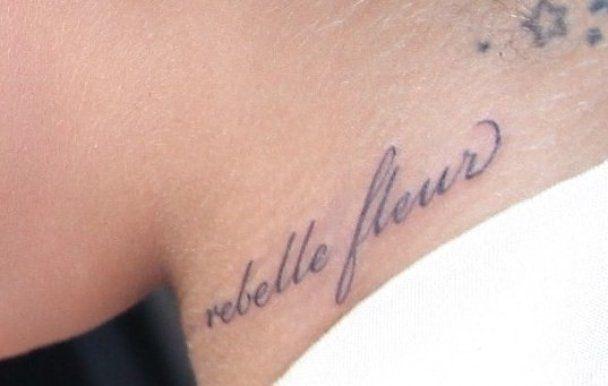 Ріанна зробила нове татуювання