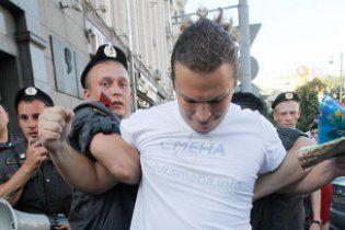 В Москве милиция разогнала участников митинга, требовавших отставки Лужкова