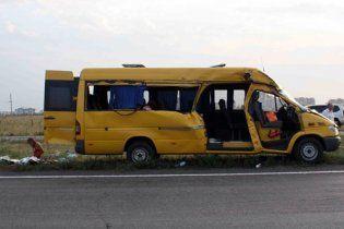 У Донецьку маршрутка зіткнулася із ЗІЛом: 2 загиблих, 6 поранених