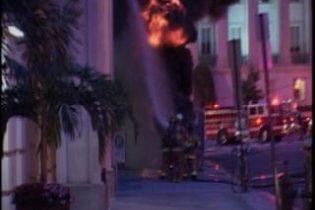 Возле Белого дома в Вашингтоне произошел пожар