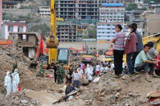 У Китаї зсув ґрунту поховав під собою 70 людей