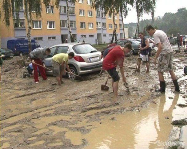 Дожди затопили Центральную Европу