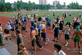 В Петербурге неофашисты жестоко избили футбольных фанов во время матча