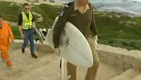 У побережья Австралии гигантская акула разорвала серфингиста