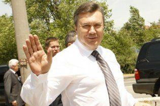 Янукович поехал на Сорочинскую ярмарку