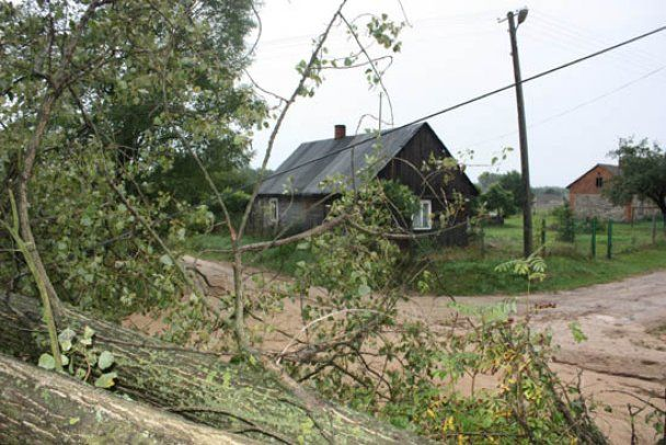 Мощный ураган в Польше: сотни человек эвакуированы