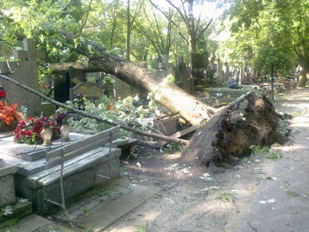 Потужний буревій у Польщі: сотні людей евакуювали
