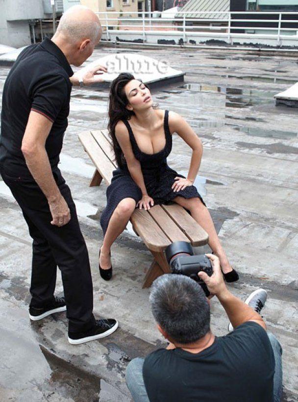 Сексуальна фотосесія Кім Кардашян для Allure