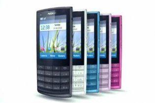 Nokia випустила мобільник X3 Touch and Type