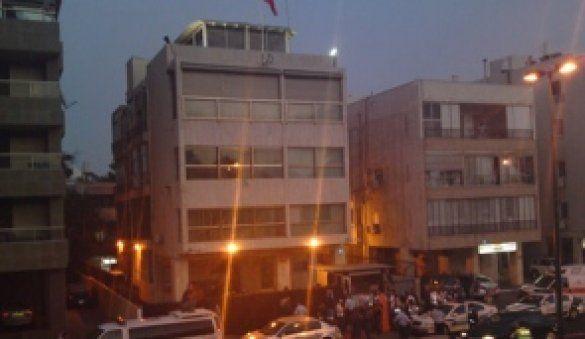 Напад на посольство Туреччини в Тель-Авіві