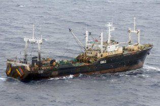 В Тихом океане затонуло южнокорейское судно: есть погибшие