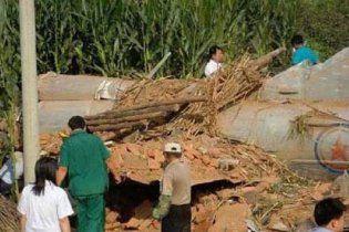 У Китаї розбився військовий літак КНДР