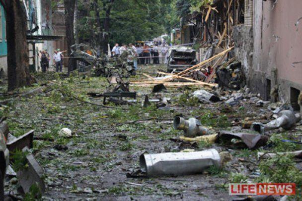 В Пятигорске введен режим чрезвычайного положения