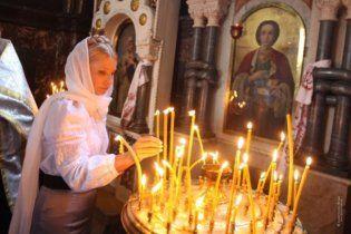 У Великодню ніч Тимошенко відвідала церкви різних конфесій