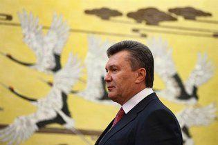 Янукович завершил государственный визит в Китай