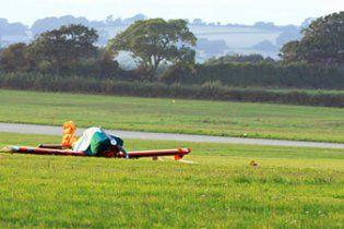 В Британии во время авиашоу столкнулись два самолета