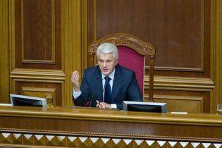 Литвин погрожує бойкотувати законопроекти Азарова