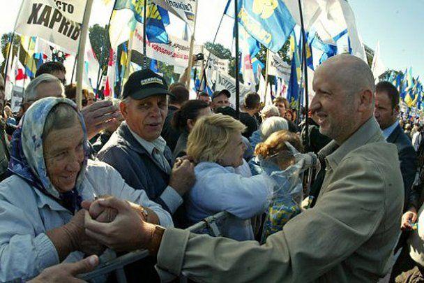 Опозиція зібрала біля ВР багатотисячний мітинг