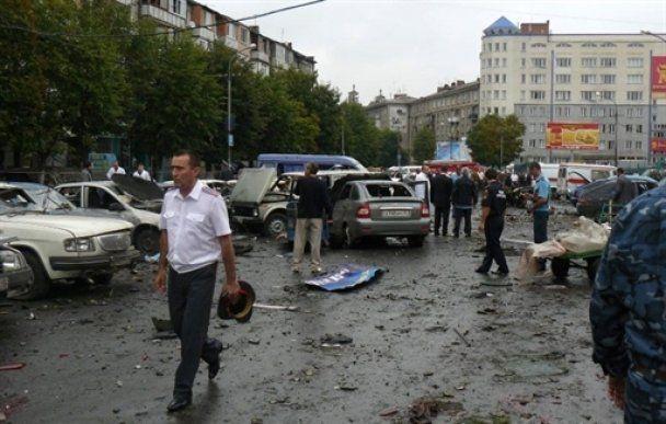 Затримали власника машини, яка вибухнула у Владикавказі