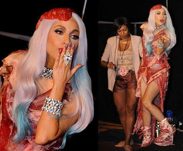 Lady GaGa очолила список зірок, які погано вдягаються