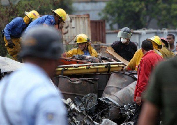 В результате авиакатастрофы в Венесуэле выжили 36 человек