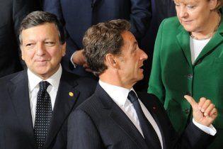 Саміт ЄС закінчився конфліктом Баррозу і Саркозі